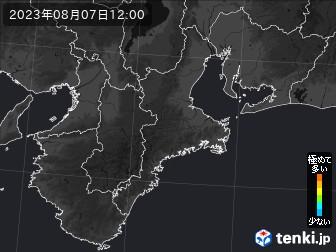 PM2.5分布予測(三重県)