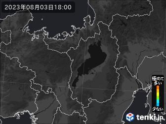 PM2.5分布予測(滋賀県)