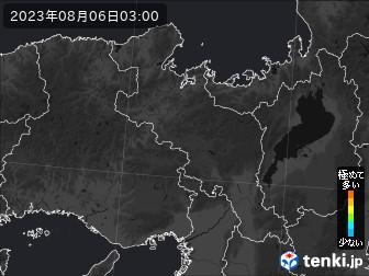 PM2.5分布予測(京都府)