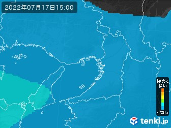PM2.5分布予測(大阪府)