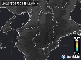 PM2.5分布予測(奈良県)
