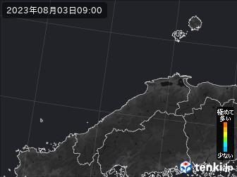 PM2.5分布予測(島根県)