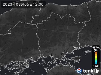 PM2.5分布予測(岡山県)