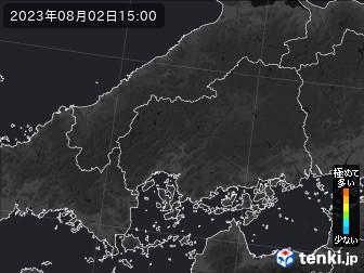 PM2.5分布予測(広島県)