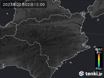 PM2.5分布予測(徳島県)