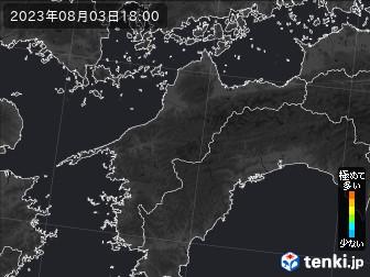 PM2.5分布予測(愛媛県)