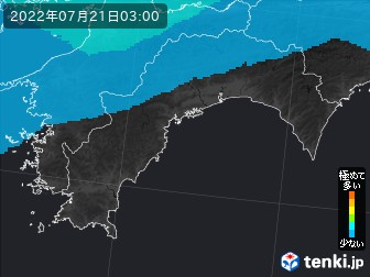 PM2.5分布予測(高知県)