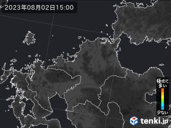 PM2.5分布予測(福岡県)