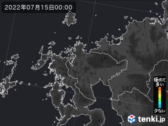 PM2.5分布予測(佐賀県)