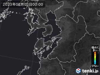 PM2.5分布予測(熊本県)