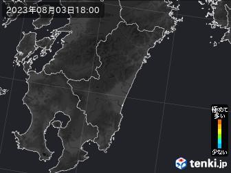 PM2.5分布予測(宮崎県)
