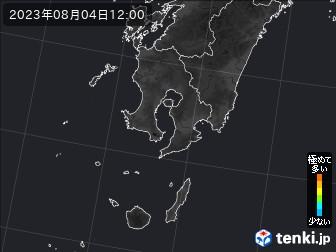 PM2.5分布予測(鹿児島県)