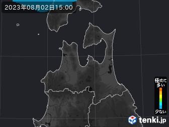 PM2.5分布予測(青森県)
