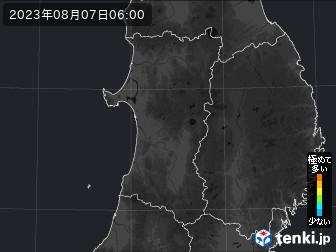 PM2.5分布予測(秋田県)