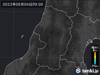 PM2.5分布予測(山形県)