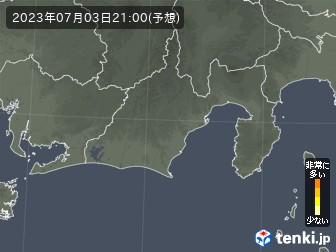 静岡県のヒノキ花粉予測
