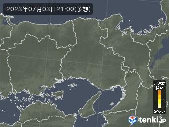 兵庫県のヒノキ花粉予測