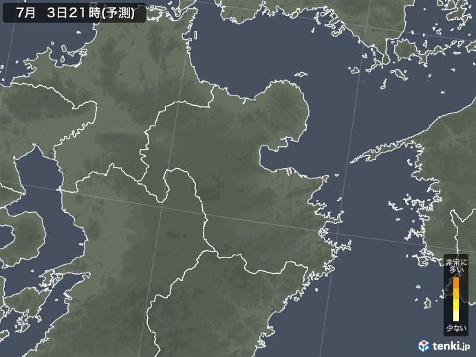 中津 市 雨雲 レーダー