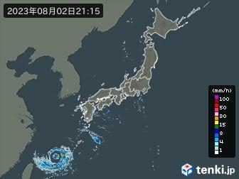 雨雲の動き