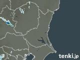 茨城県の雨雲レーダー(実況)