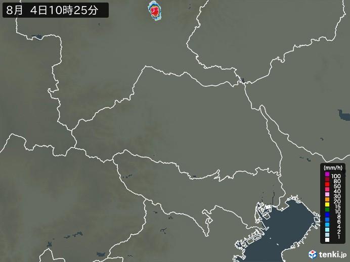埼玉県の雨雲レーダー