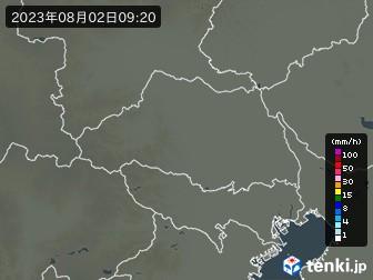 埼玉県の雨雲の動き