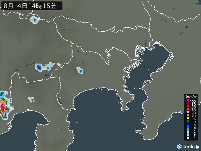 神奈川県の雨雲レーダー