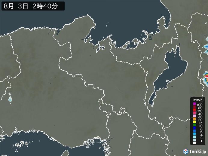 雨雲 レーダー 京都 明日