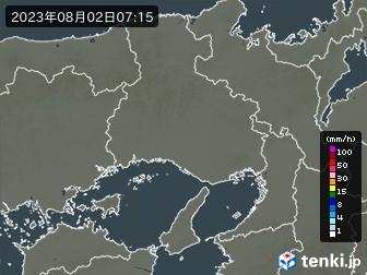 兵庫県の雨雲の動き