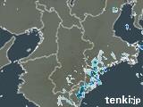 奈良県の雨雲レーダー(実況)