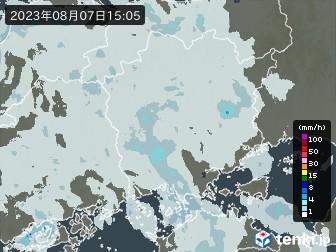 岡山県の雨雲レーダー
