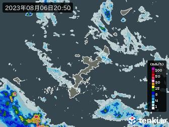 沖縄県の雨雲の動き