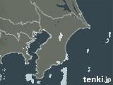 千葉県の雨雲レーダー(過去)