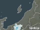 新潟県の雨雲レーダー(過去)