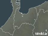 富山県の雨雲レーダー(過去)