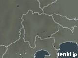 山梨県の雨雲レーダー(過去)