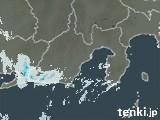 静岡県の雨雲レーダー(過去)