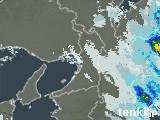 大阪府の雨雲レーダー(過去)