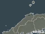 島根県の雨雲レーダー(過去)
