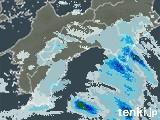 高知県の雨雲レーダー(過去)