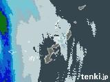 沖縄県の雨雲レーダー(予報)