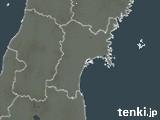 宮城県の雨雲レーダー(過去)