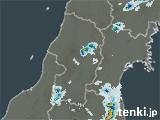 山形県の雨雲レーダー(過去)