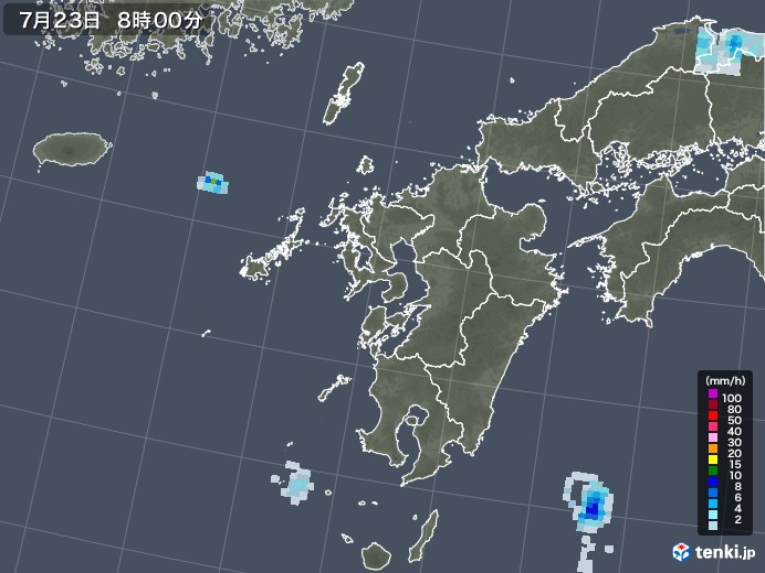 雲仙 市 雨雲 レーダー