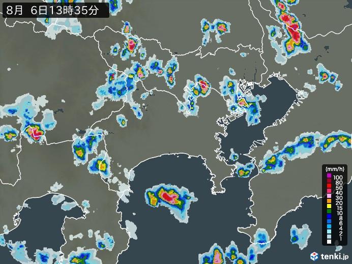 天気 中原区 雨雲レーダー