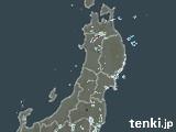 東北地方の雨雲の動き(予報)