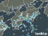 四国地方の雨雲の動き(予報)