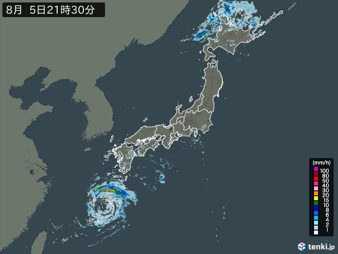 雨雲の動き(予報)