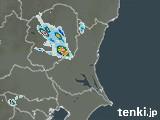 茨城県の雨雲の動き(予報)