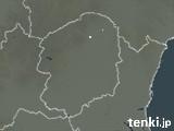 栃木県の雨雲レーダー(予報)